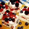 Prăjitura cu branză de vaci si fructe