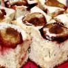 Prăjitură cu prune si blat din smantană