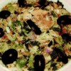 Salată de macrou cu ceapa