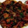 Mâncare de ciuperci cu pipote