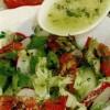 Salată de primăvară cu sos din miere si tarhon