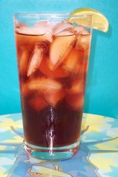 Ice tea cu cirese