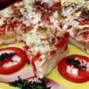 Plăcintă aperitiv cu roşii la cuptor