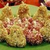 Fructe din biscuiţi si nucă de cocos
