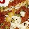 Paste cu soia si sos de roşii
