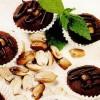 Minibrioşe cu ciocolată