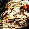 Ruladă cu ciuperci şi parmezan