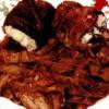 Rulade de carne cu orez şi garnitură de varză