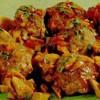Chifteluţe la cuptor cu sos de ciuperci