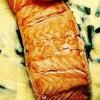 Escalop de somon cu măcriş