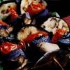 Frigărui de legume cu ciuperci si pudra de scorţişoară