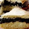 Prăjitură cu 2 blaturi şi crema de mac