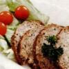 Ruladă de porc cu legume
