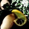 Calamar umplut cu legume