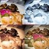 Gratar de curcan cu ciuperci la cuptor si muraturi