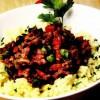 Orez cu legume şi carne