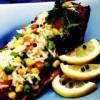 Peşte afumat cu legume