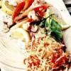 Peste cu salată