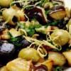 Salata de ciuperci marinate cu masline
