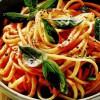 Spaghete cu sos de roşii si smântână
