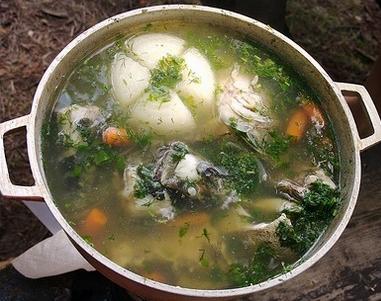 Supă rusească de peşte, cu lămaie şi mărar – Uha