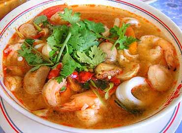 Supă de fructe de mare – Sopa de mariscos estilo La Paz