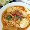 Tăiţei de orez proaspeţi in sos bogat – Mee rebus