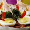 Bărcuţe din ouă umplute