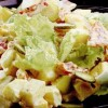 Salata cu svaiter si salam