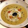 Supă cremă de legume cu crutoane de paine prajita