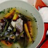 Supa de vita cu fasole verde