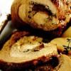 Friptură din pulpă de porc cu cremă de gutui