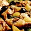 Iepure cu măsline şi fenicul