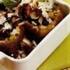 Ciuperci umplute cu carne de pui