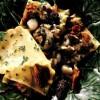 Lasagna cu moluşte şi ciuperci