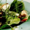 Salată de spanac şi mere