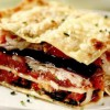 Lasagna de vară cu vinete şi roşii