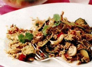 Pilaf de orez Basmati cu pui