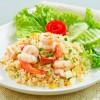 Salata rece de orez cu creveti