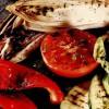 Legume la grătar cu sos de branză