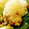 Peşte cu cartofi crocanţi julien