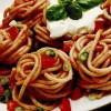 Spaghete cu sos aromat