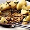 Reteta zilei: Peşte spada la grătar cu garnitura de cartofi noi