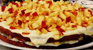 Prăjitură delicioasa cu piersici