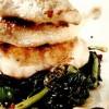 Prepeliţă cu spanac în sos dulce-acrişor