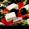 Salată asortată cu măsline si feta