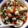 Salată de roşii cu pepene galben