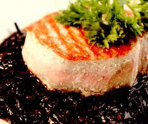 Biftec de ton pe sos wakame