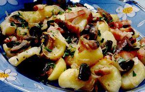 Ciuperci cu cartofi tărănesti