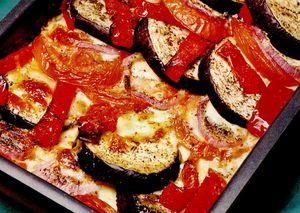 Ghiveci de toamna cu mozzarella